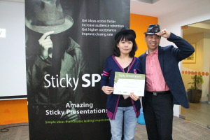 Sticky SPY - Amazing Sticky Presentations